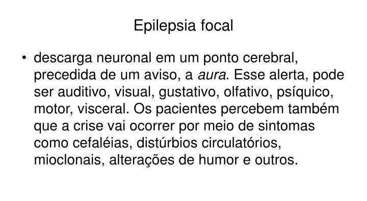 Epilepsia focal