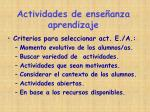 actividades de ense anza aprendizaje1
