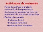 actividades de evaluaci n1