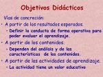 objetivos did cticos3