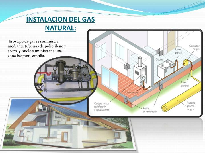Instalacion del gas natural