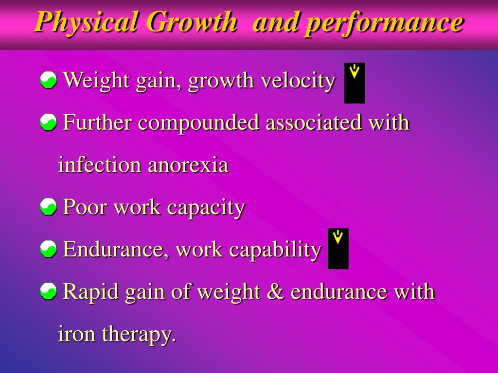 Physical Growth  and performance