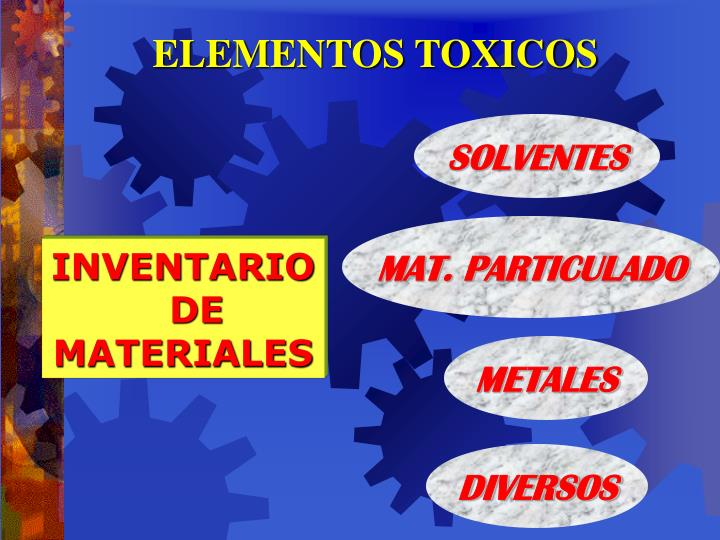 ELEMENTOS TOXICOS