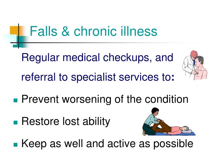 Falls & chronic illness