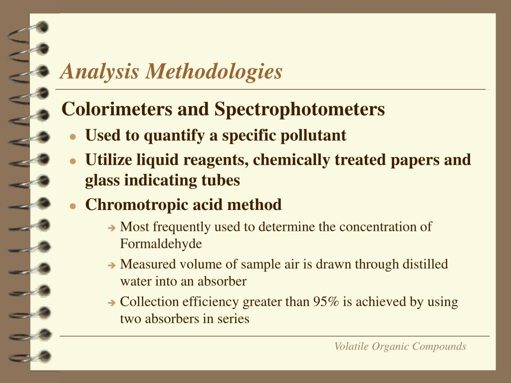 Analysis Methodologies