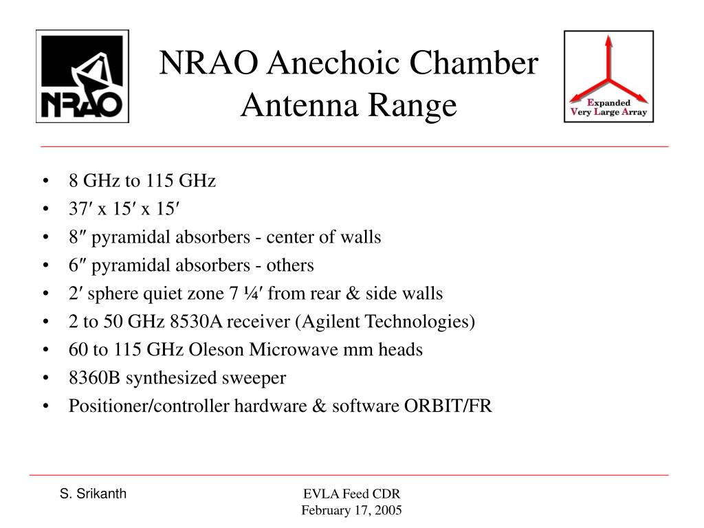 NRAO Anechoic Chamber