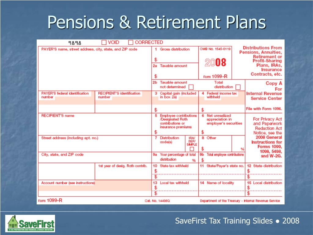 Pensions & Retirement Plans