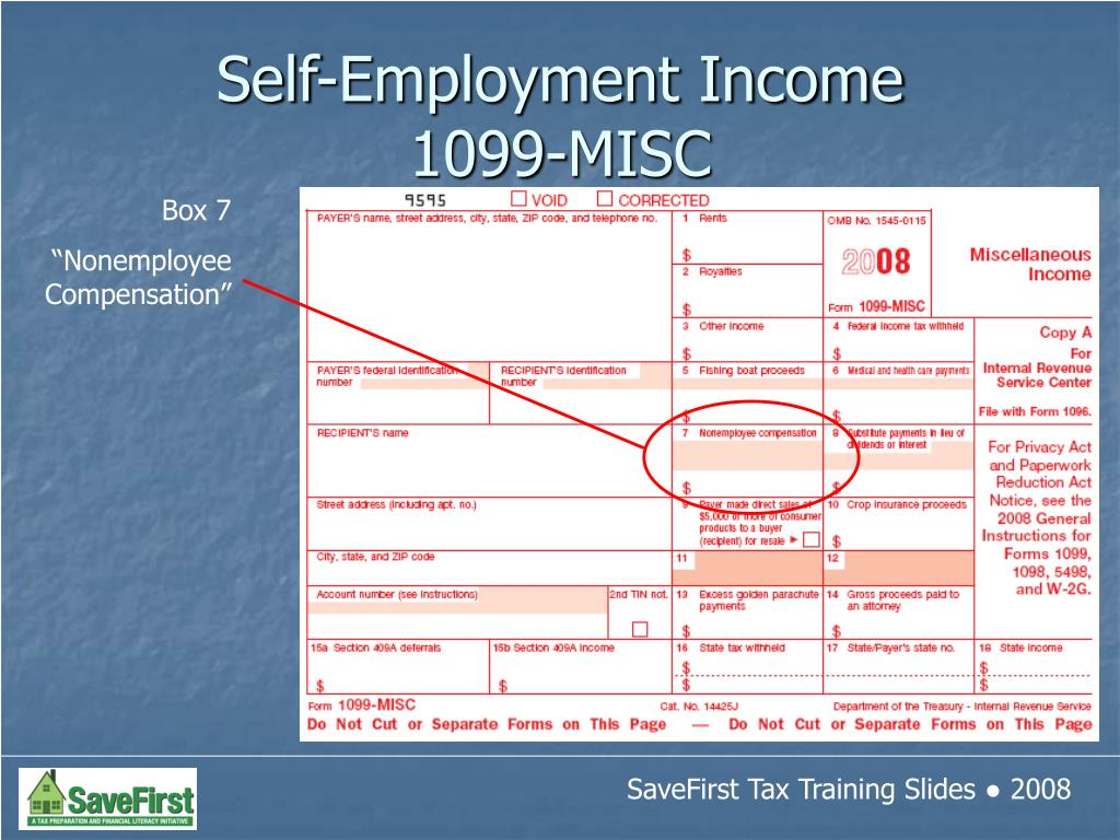 Self-Employment Income