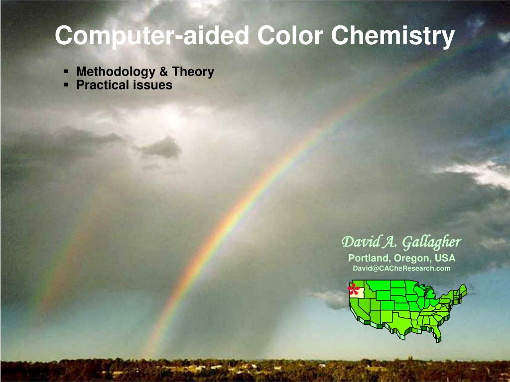 computer aided color chemistry