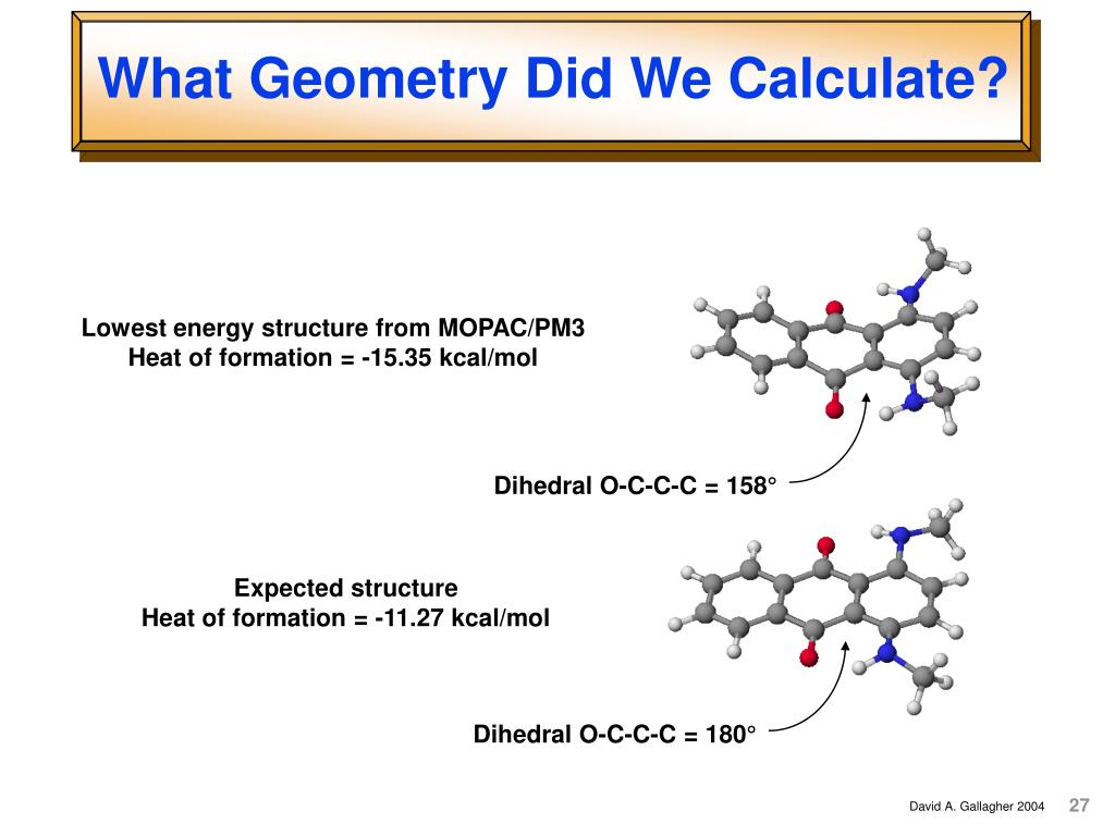 What Geometry Did We Calculate?