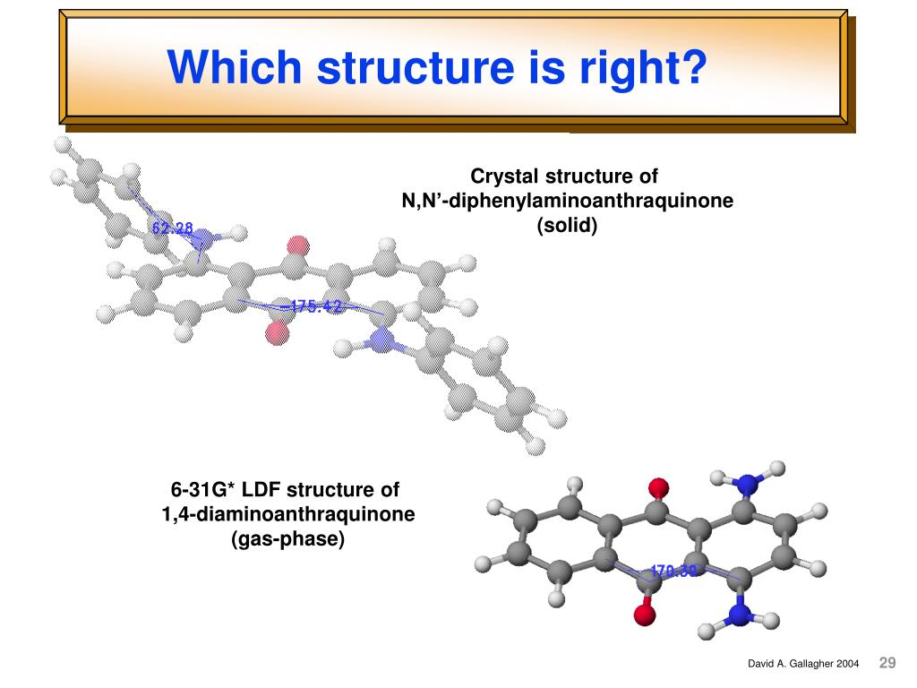 Which structure is right?