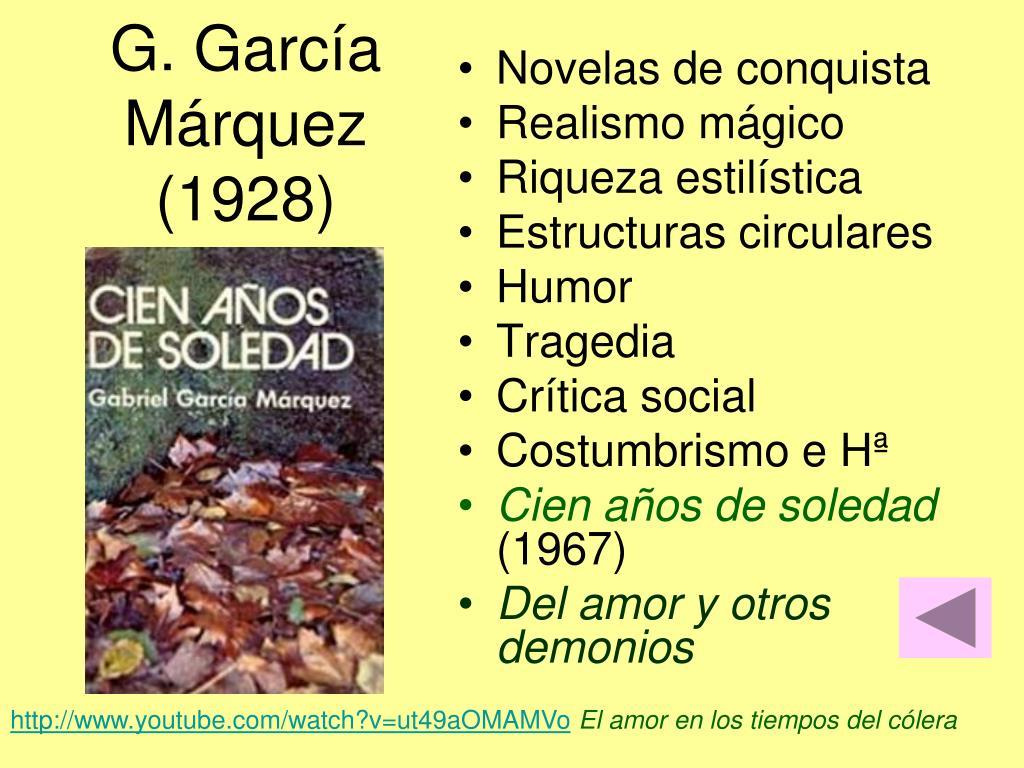 G. García Márquez