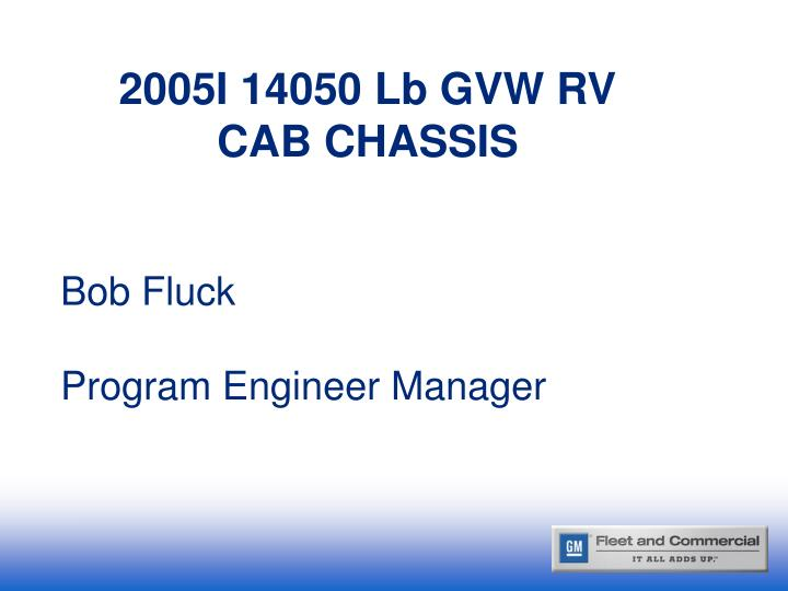 Bob fluck program engineer manager