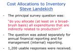 cost allocations to inventory steve landekich11