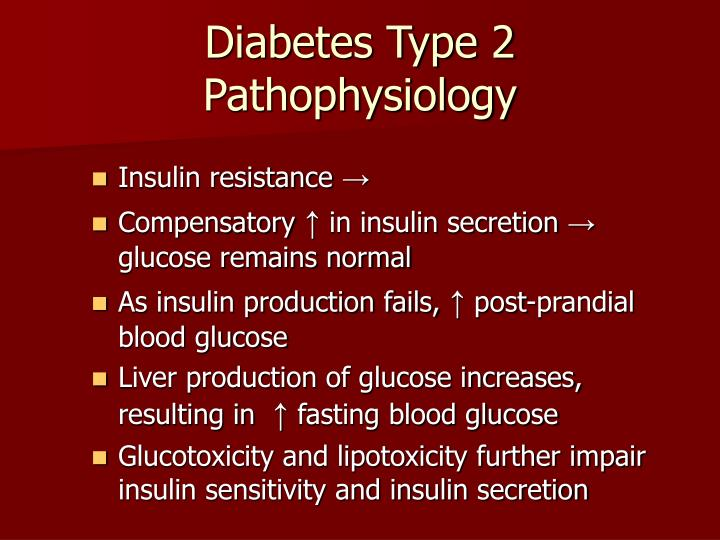 Diabetes Type 2 Pathophysiology