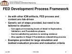 fed development process framework
