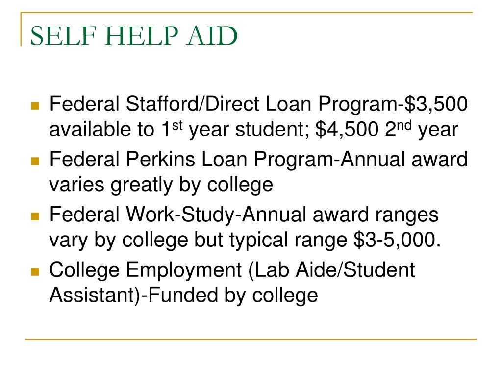 SELF HELP AID
