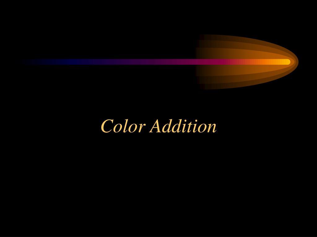 Color Addition