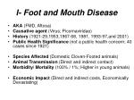 i foot and mouth disease