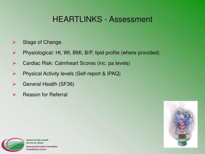 HEARTLINKS - Assessment