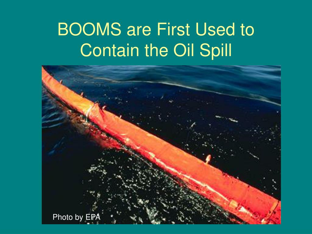BOOMS are First Used to