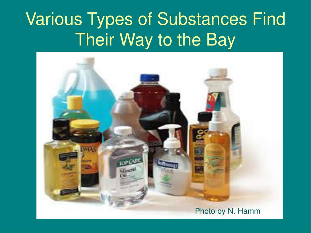 Various Types of Substances Find Their Way to the Bay