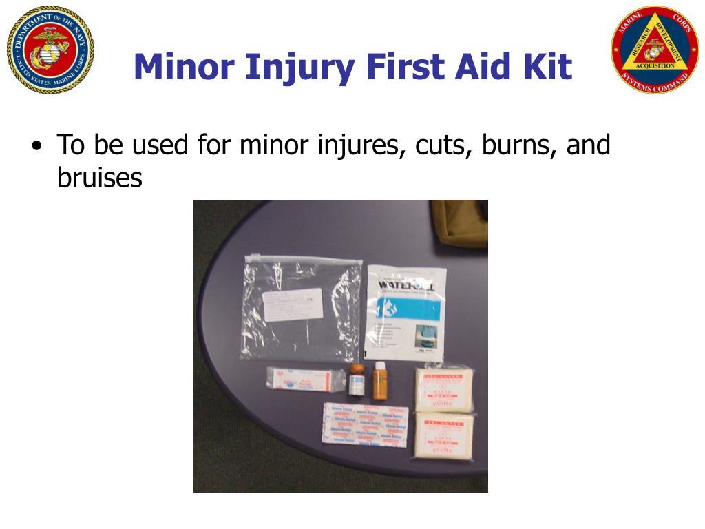 Minor Injury First Aid Kit