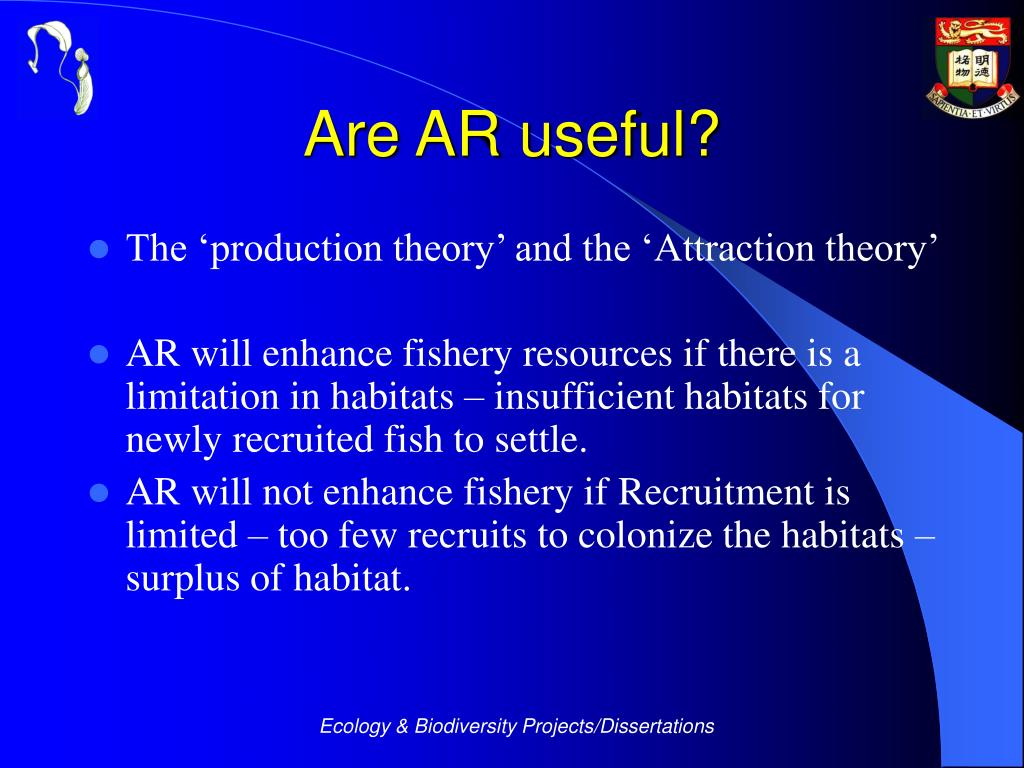 Are AR useful?