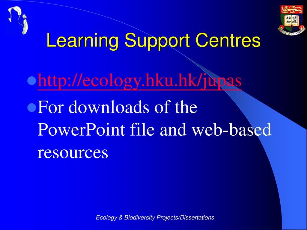 Learning Support Centres