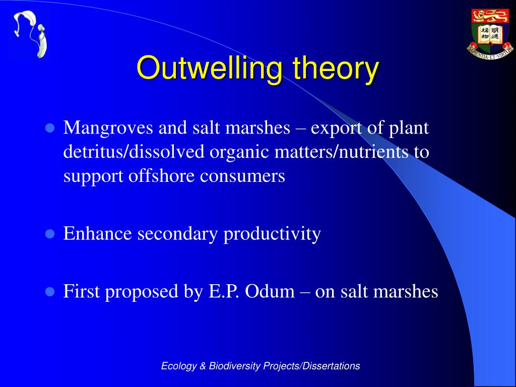 Outwelling theory