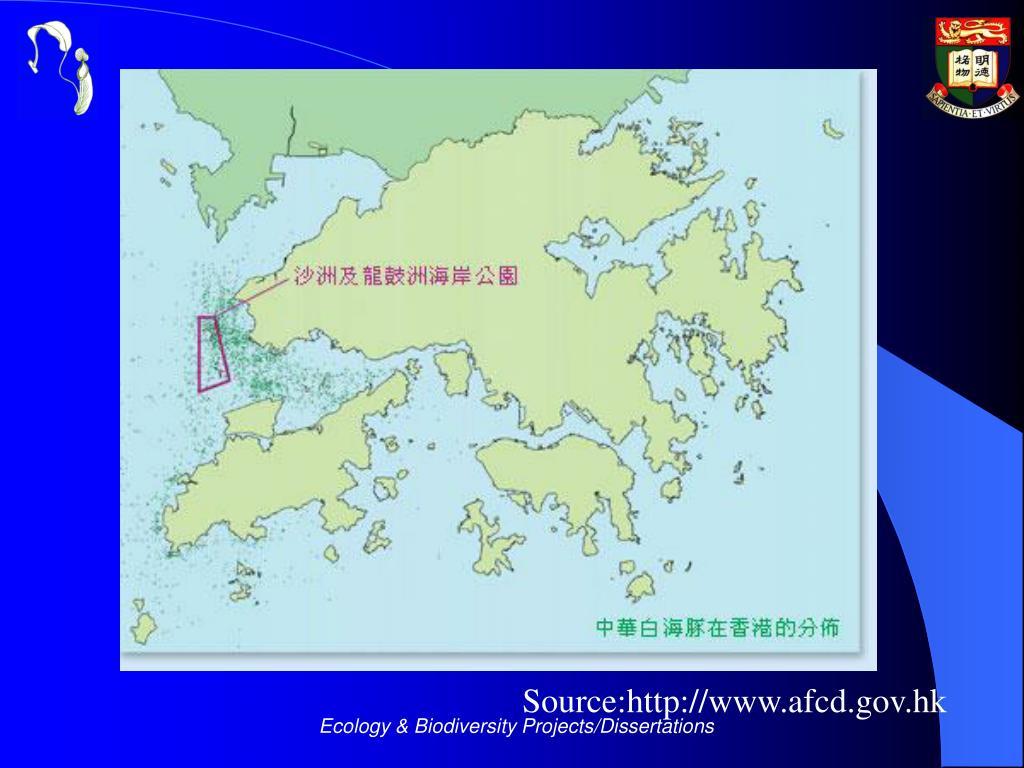 Source:http://www.afcd.gov.hk