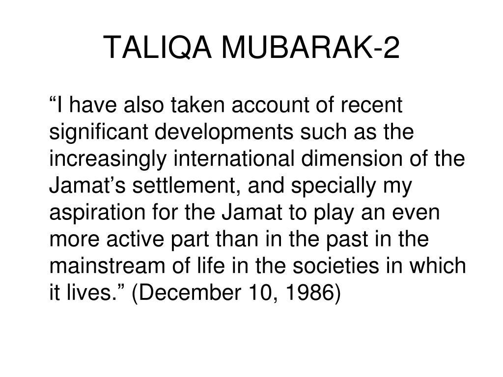 TALIQA MUBARAK-2