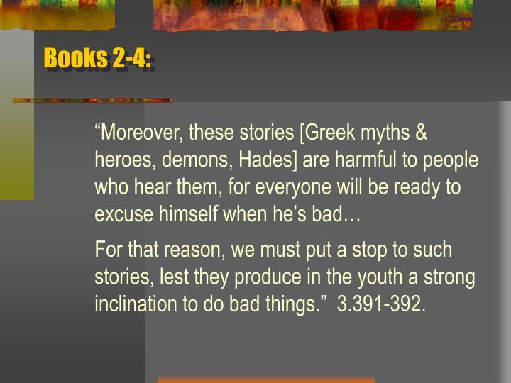 Books 2-4: