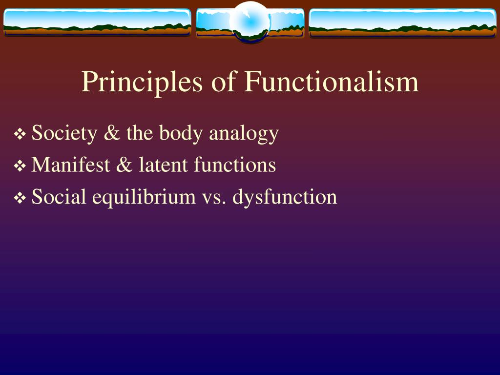 functionalism presentation What is functionalism sociological definition of functionalism example, sample sentence, & pronunciation of functionalism free online sociology dictionary & oer.