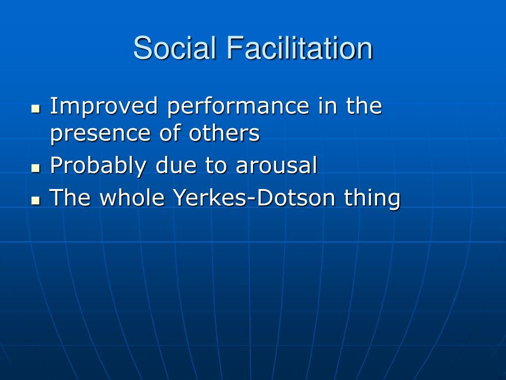 social loafing social inhibition and social facilitation