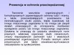 prewencja w ochronie przeciwpo arowej1