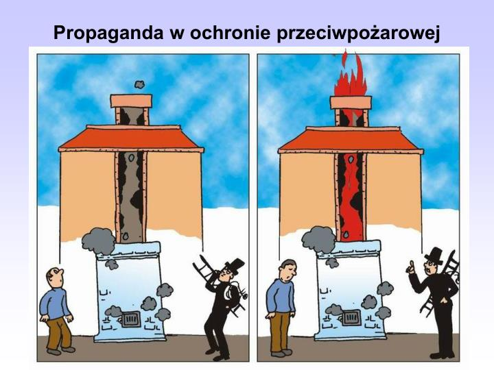 Propaganda w ochronie przeciwpożarowej