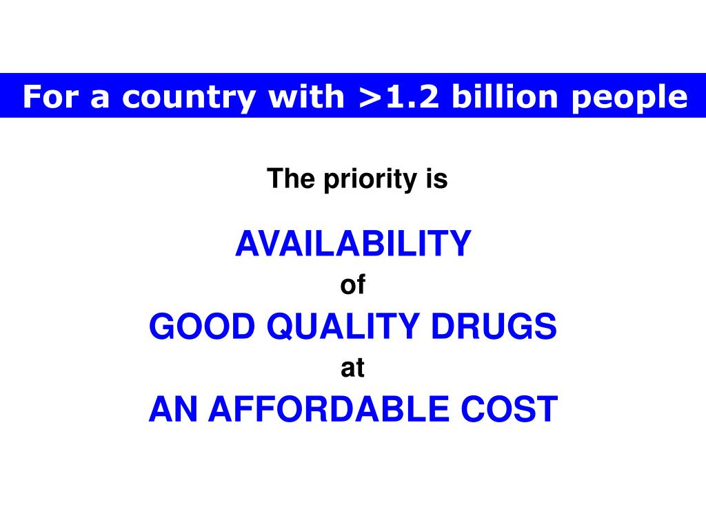 For a country with >1.2 billion people