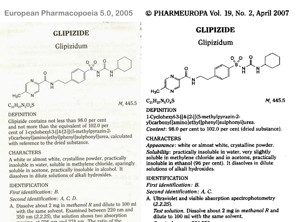 European Pharmacopoeia 5.0, 2005