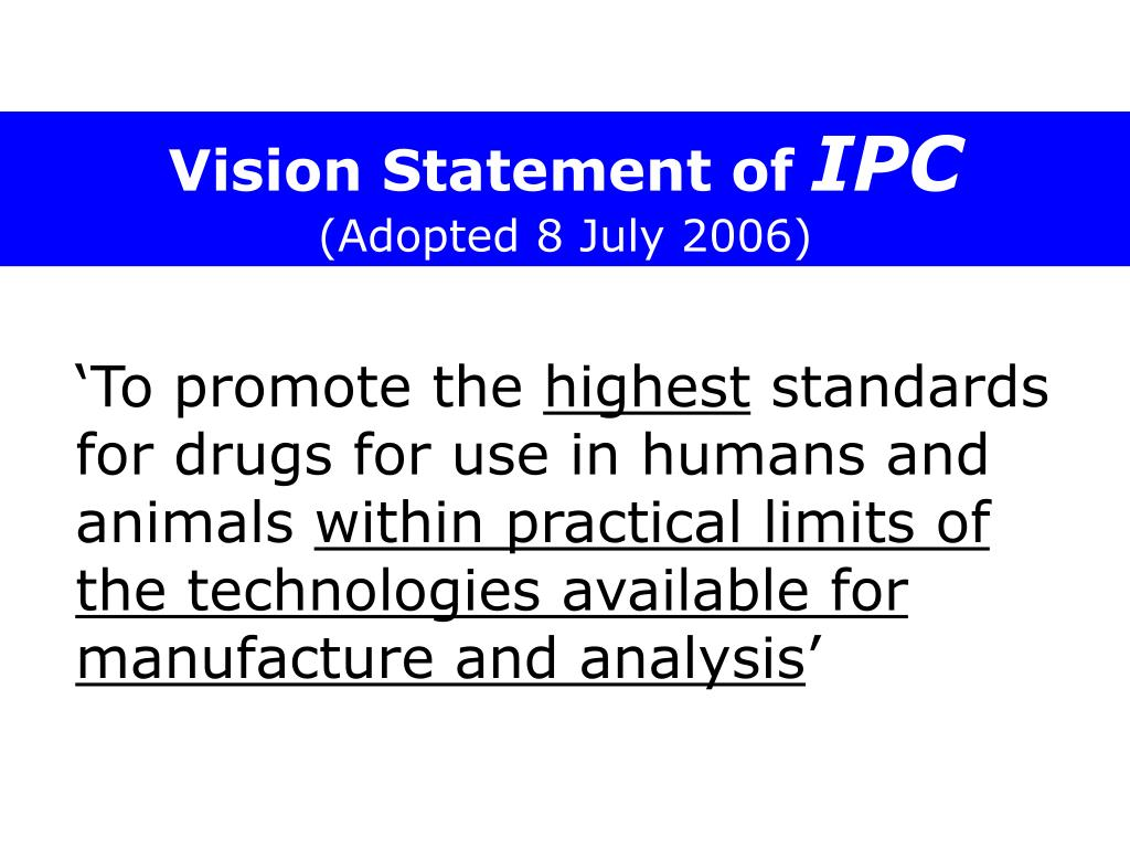 Vision Statement of