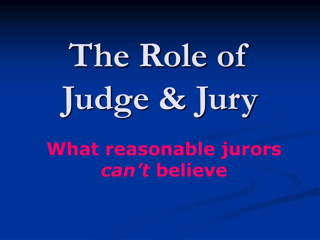 the role of the jury Jury instructions: what jurors understand jury selection roles)) { // user is not associated with role, redirect to signup page assuming a jury can be completely fair on the question of guilt or innocence.