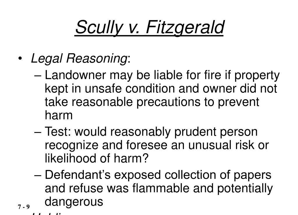 Scully v. Fitzgerald