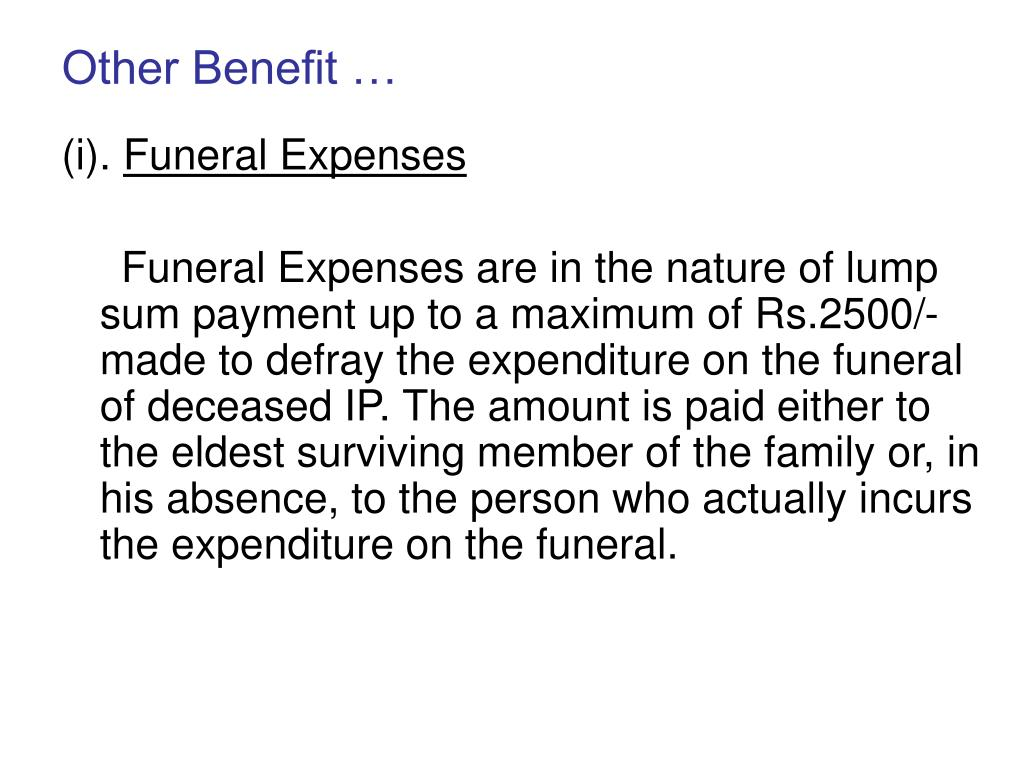 Other Benefit …