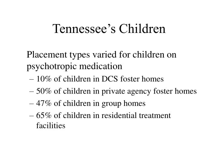 Tennessee's Children