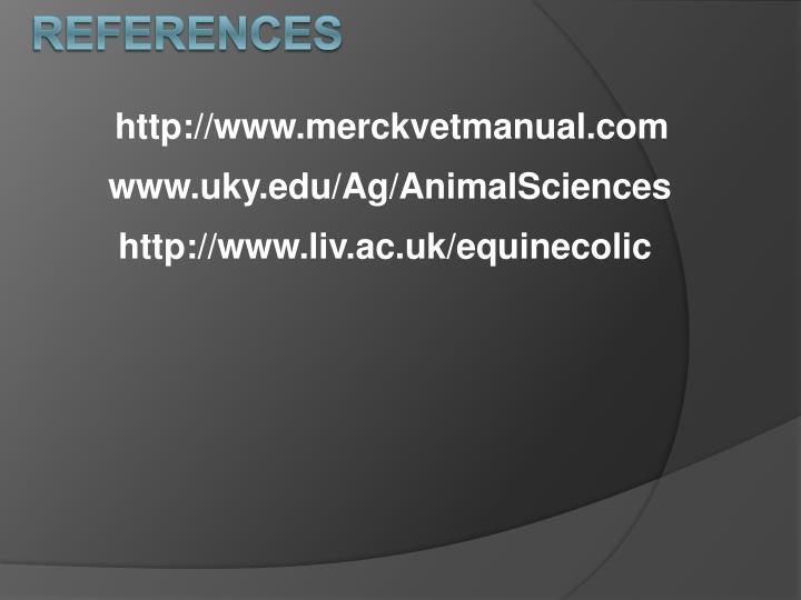 http://www.merckvetmanual.com