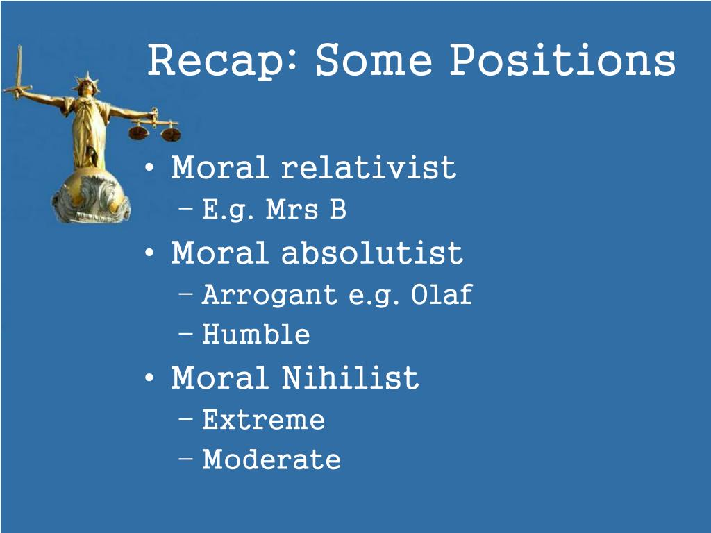 Relativism and Absolutism – Strengths and Weaknesses