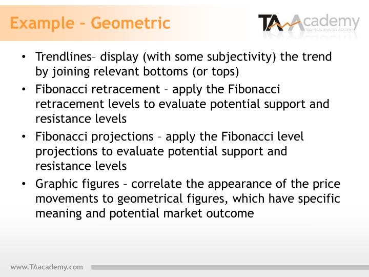 Example – Geometric