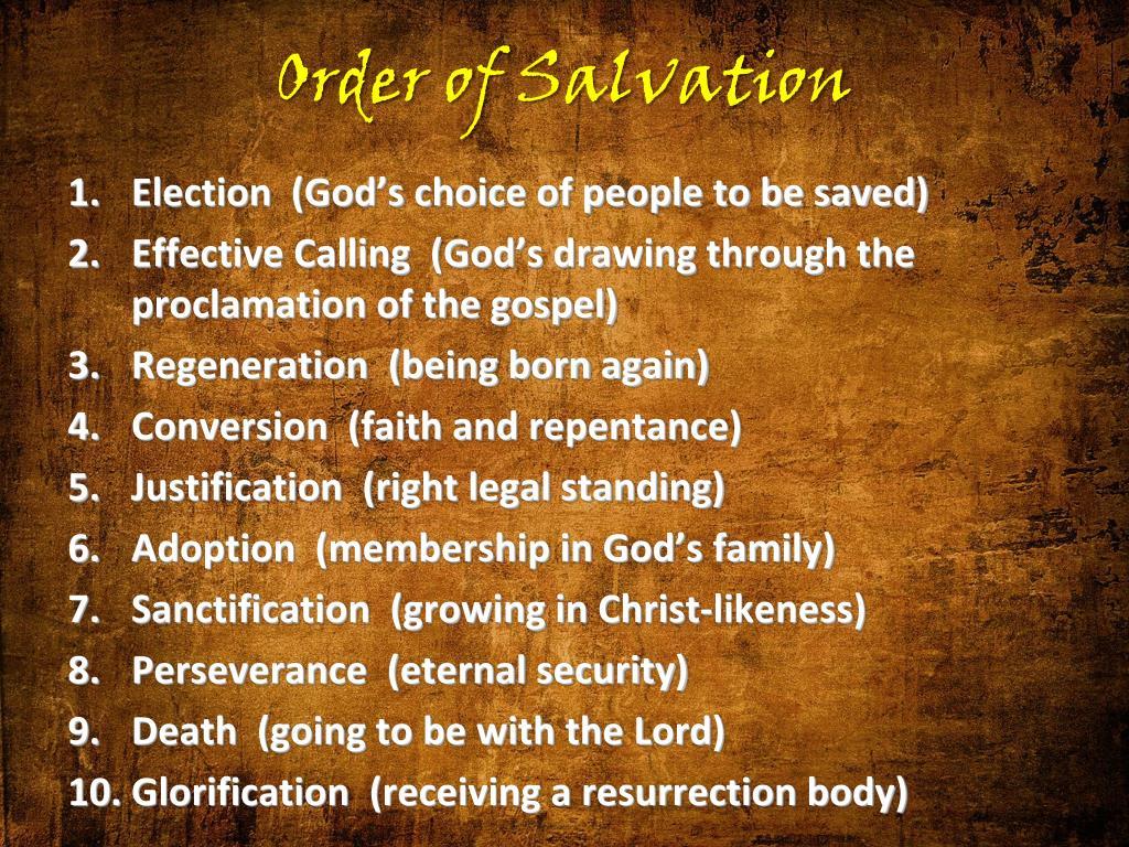 Order of Salvation