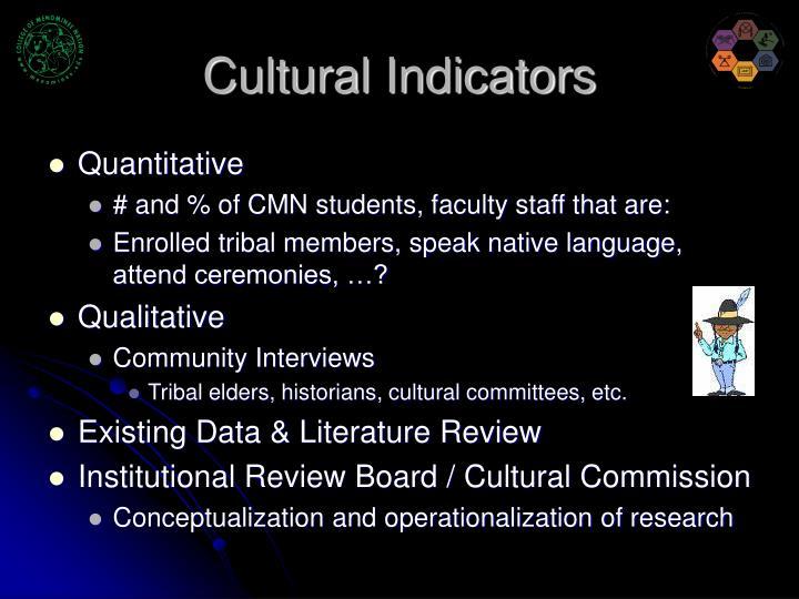 Cultural Indicators