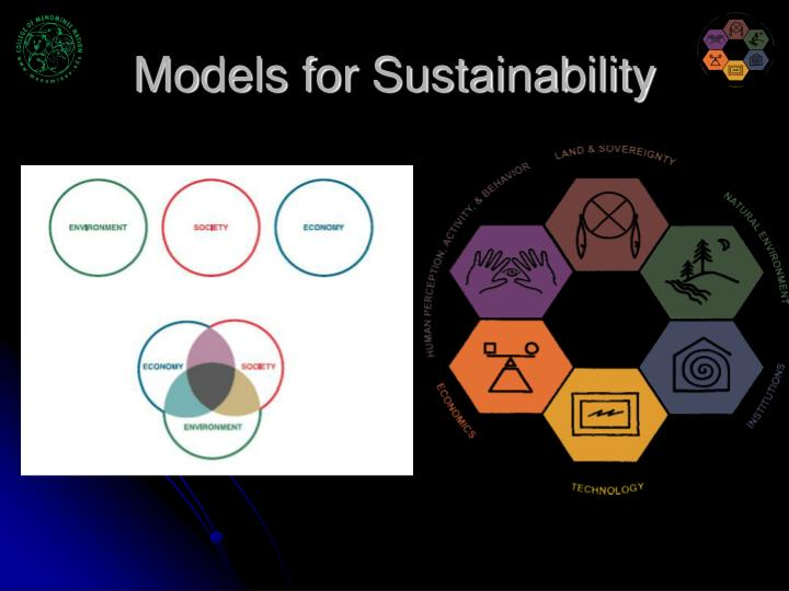 Models for Sustainability